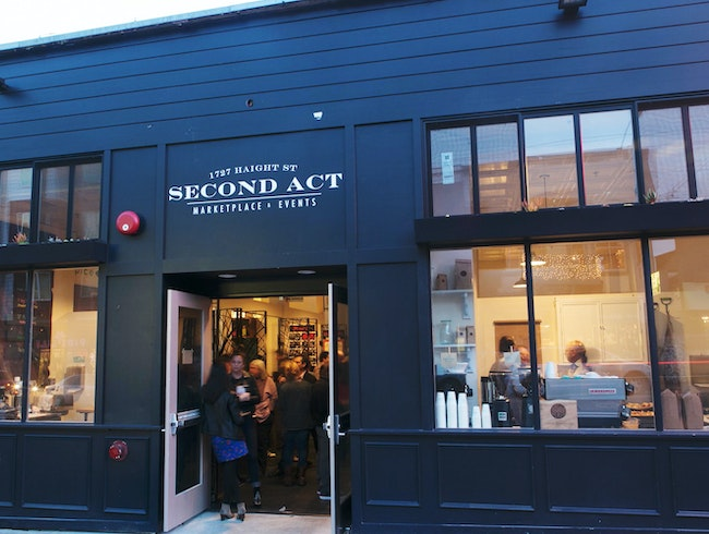 Stop by Second Act Marketplace for Treats on Haight Street