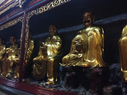 Hualin Buddhist Temple Guangzhou  China