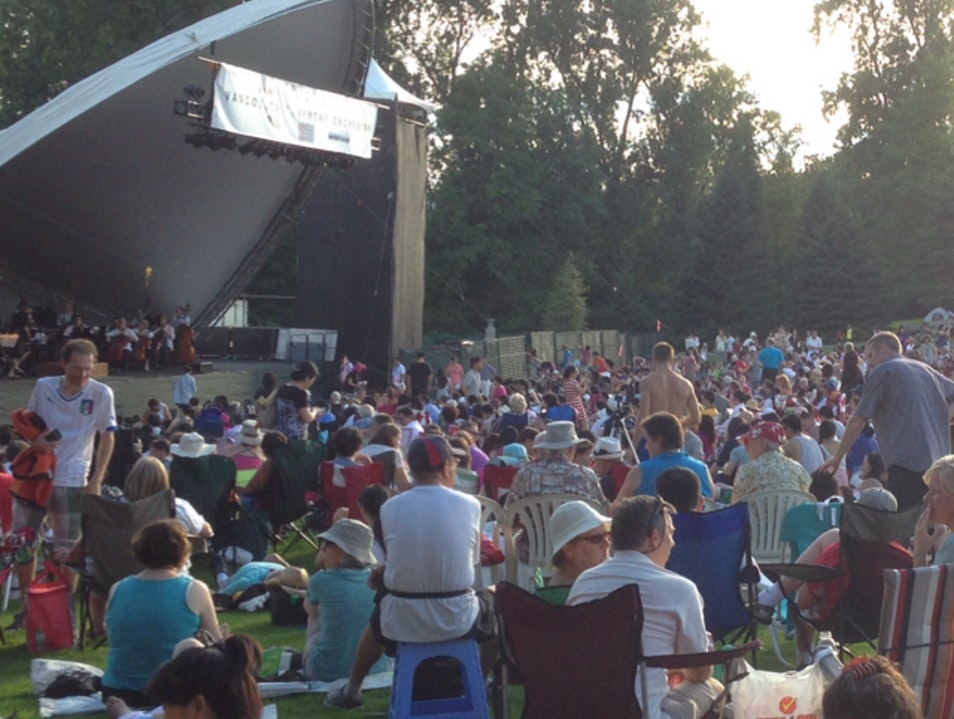 Symphony in the Park: A Perfect Summer Night in Burnaby Burnaby  Canada