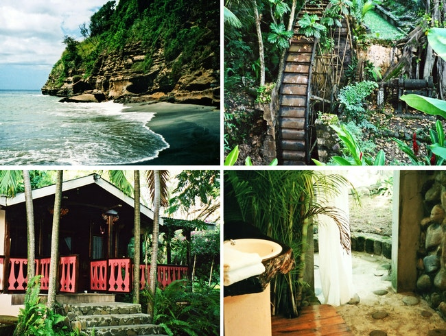 Authentic tropical R and R, plus history lessons and an outdoor bathtub
