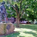 The Hiker statue Knoxville Tennessee United States