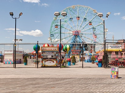 Coney Island and Brighton Beach New York New York United States