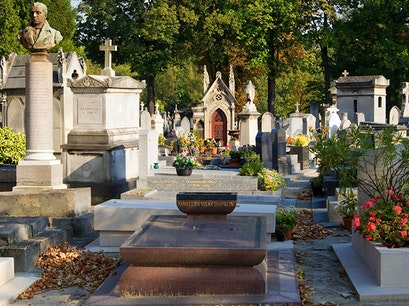 Montparnasse Cemetery Paris  France