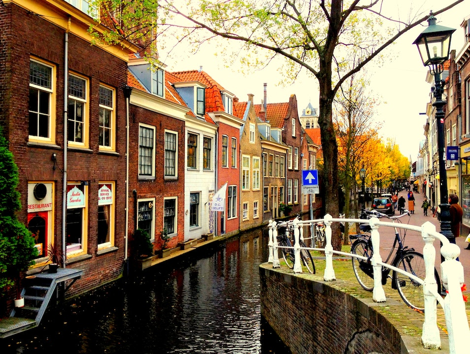 The Best of Holland Outside Amsterdam Delft  The Netherlands