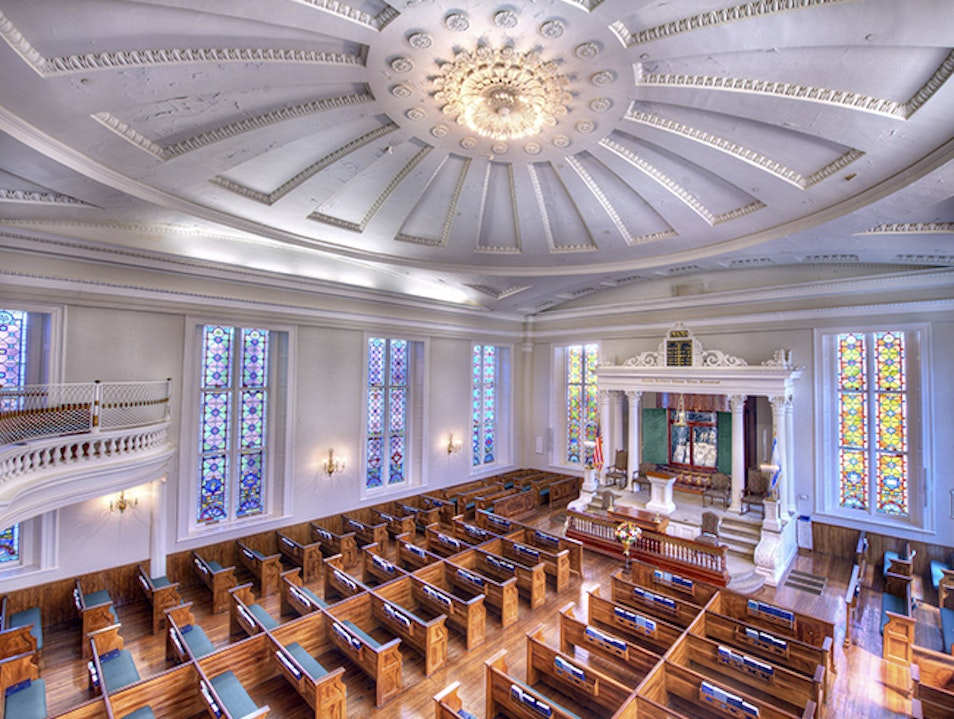 Second oldest United States synagogue building Charleston South Carolina United States