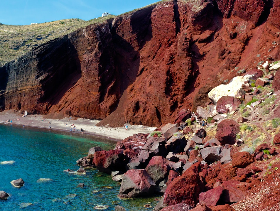 Admire This Beach of Volcanic Rocks