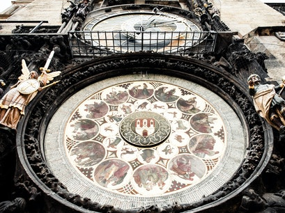 Prague Astronomical Clock Prague  Czech Republic