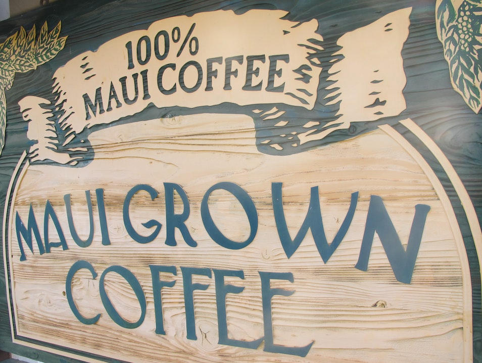 Locally Grown Coffee Lahaina Hawaii United States