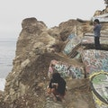 Sunken City Landslide Los Angeles California United States