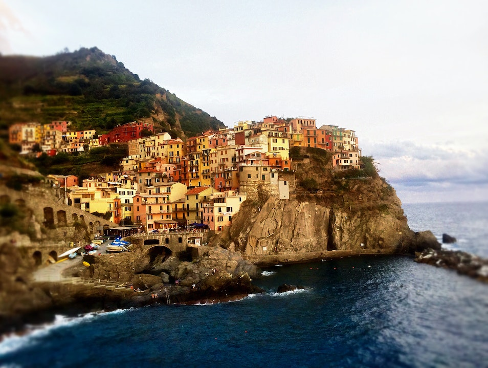 The fairytale land of Cinque Terre Manarola  Italy