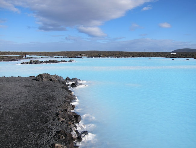 Blue @ the Blue Lagoon