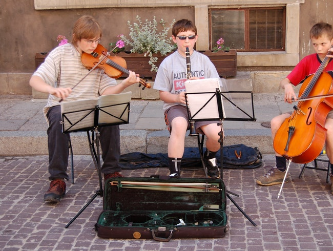 enterprising young musicians