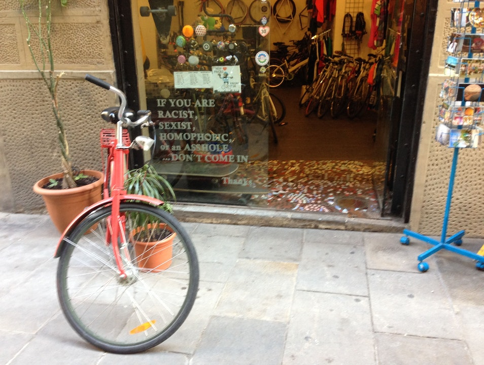 Buy, rent or fix a bike at MBP Barcelona  Spain