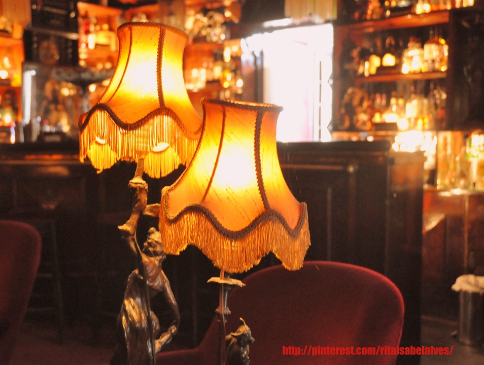 A Cozy and Intimate Historical Bar Lisbon  Portugal