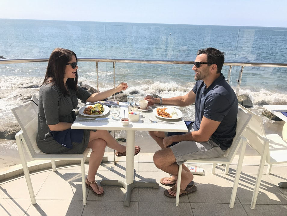 Oceanfront Dining At Carbon Beach Club Malibu California United States