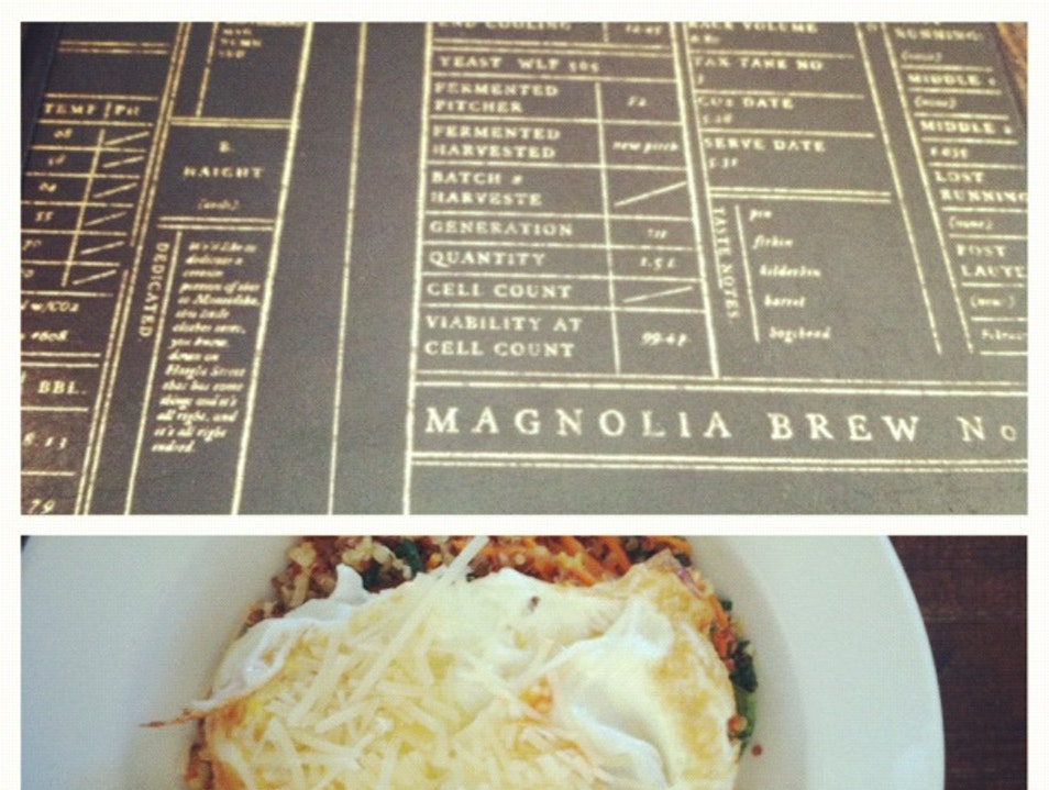 Magnolia Brewery: Good for more than just beer.
