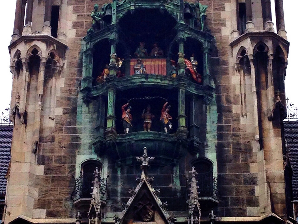The Storytelling at Neues Rathaus Munich  Germany