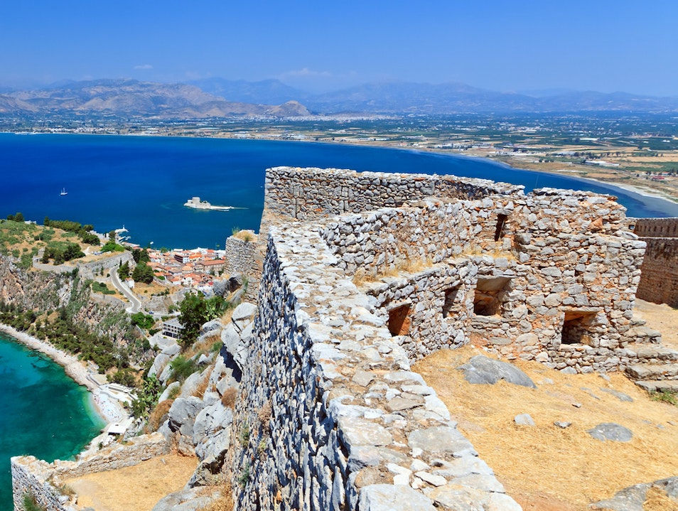 Palamidi Castle Nafplio  Greece