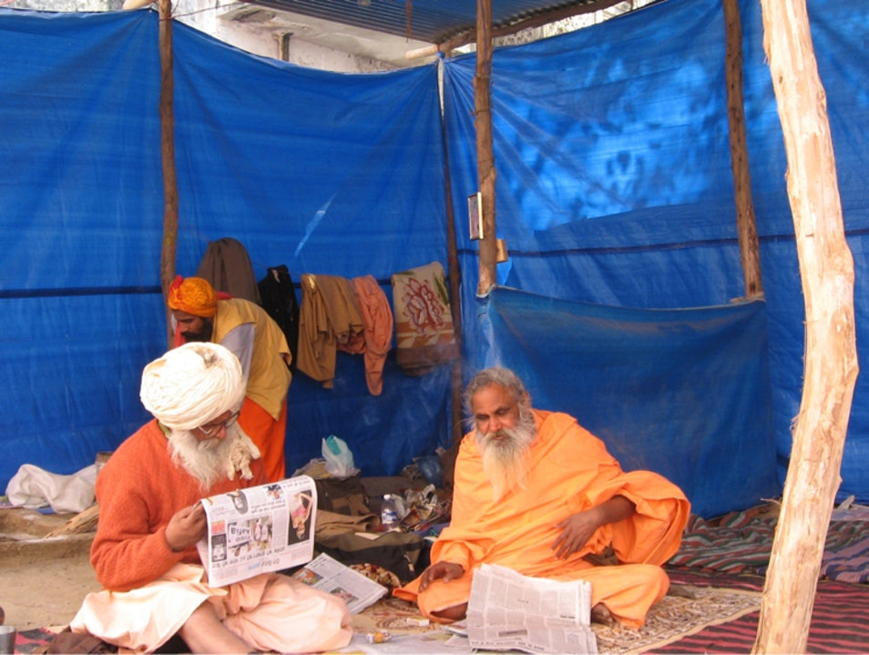Read The Newspaper A Daily RITUAL! Haridwar  India