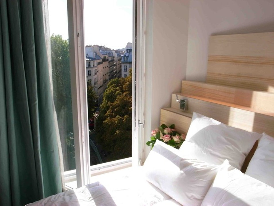 A cozy stay on along the Canal  Paris  France