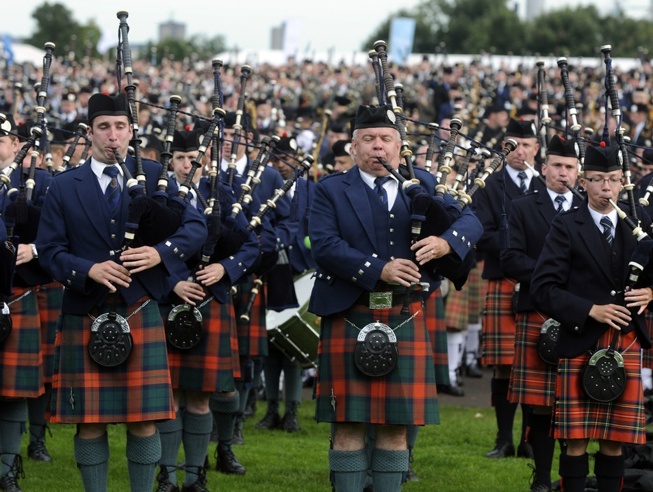 The Sound of Scotland: The World Pipe Band Championships Glasgow  United Kingdom