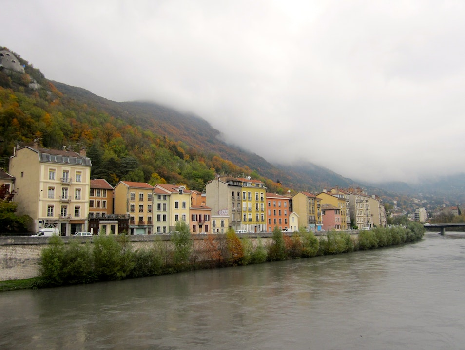 Fall Colors in the Rhone-Alpes Grenoble  France