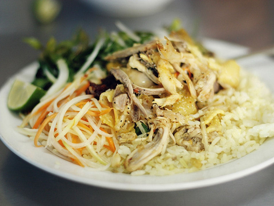 Chicken Rice Hoi An Style