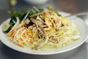 Chicken Rice, Hoi An Style