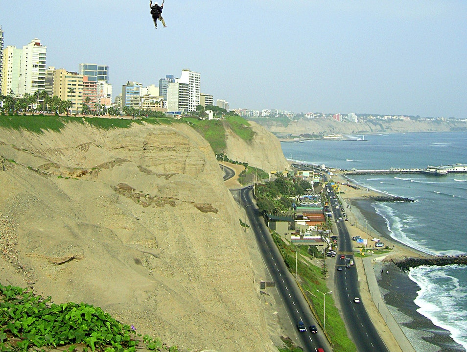 Quiet Parks with an Ocean View Lima  Peru
