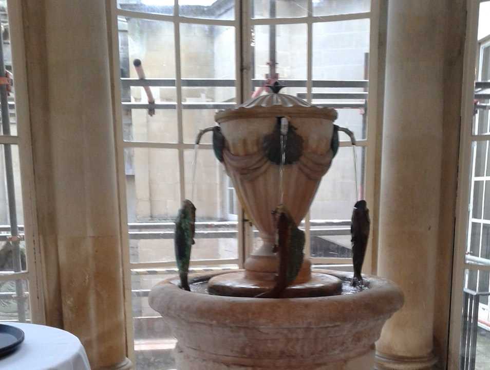 Lunch at the Pump Room Bath  United Kingdom