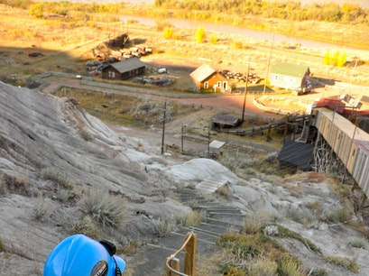 Historic Atlas Coal Mine Drumheller  Canada