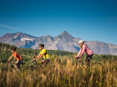 Biking Lake City Colorado United States
