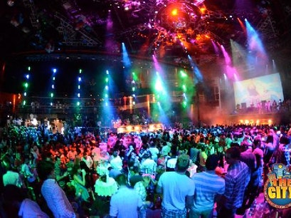 The City Nightclub Cancun Cancun  Mexico