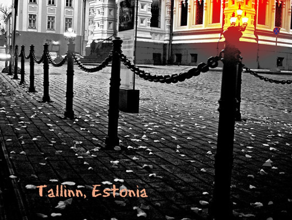 Dark  days return to Tallinn Tallinn  Estonia