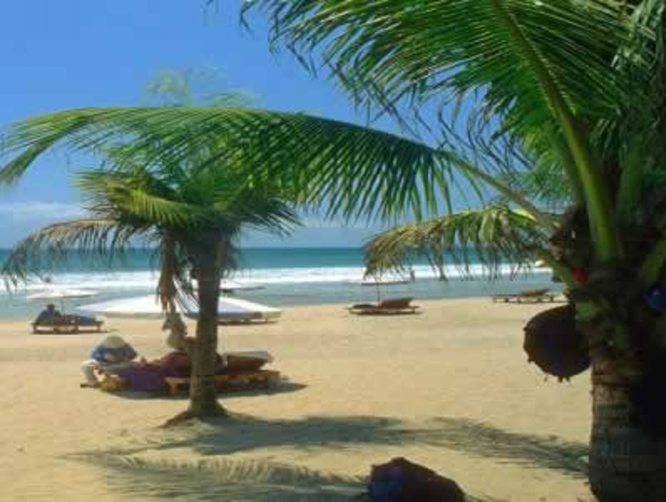 KUTA BEACH IS HOLIDAY PARADISE WITH BEAUTIFULL CLEAN AND WHITE SAND BEACH Denpasar  Indonesia