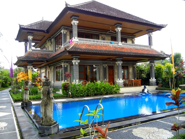 Villa in the paddy fields