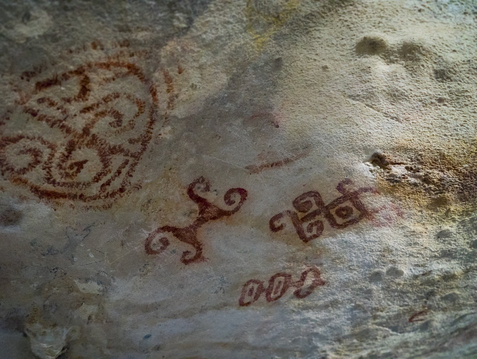 Cave Graffiti  San Nicolas North  Aruba