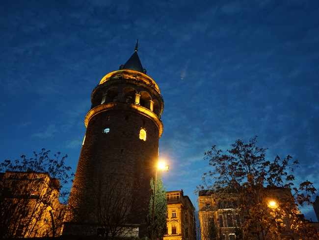 Enjoy a remarkable view from Galata Tower