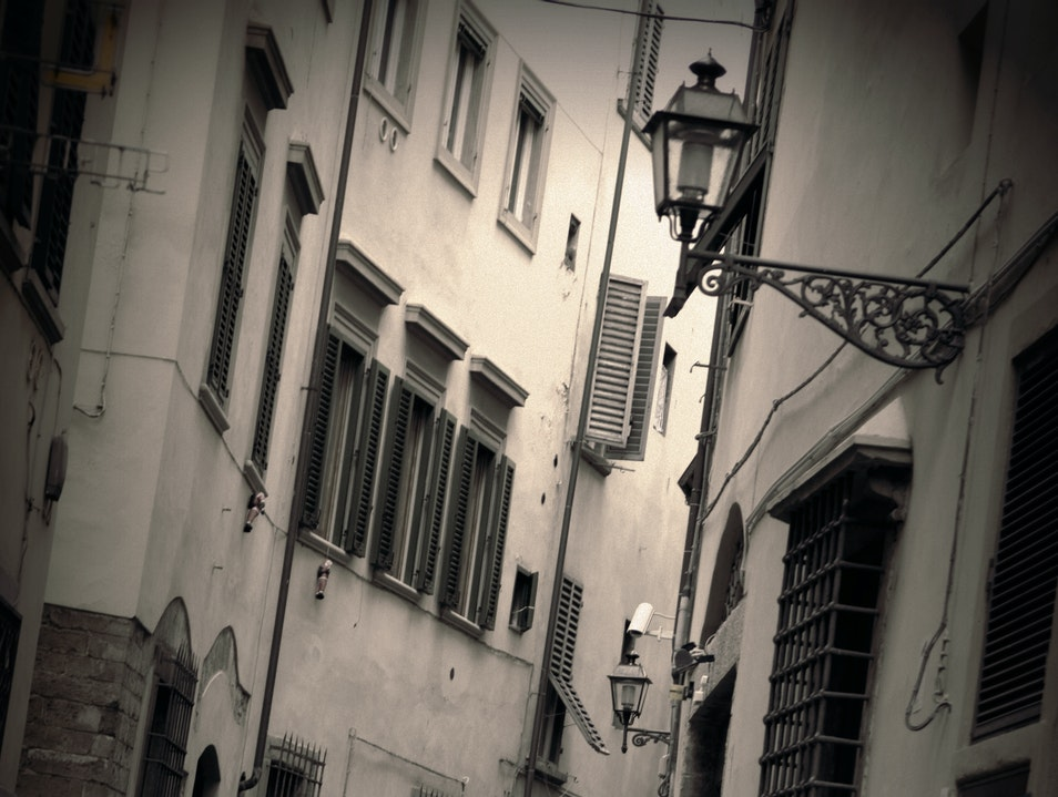 Streets of Florence Florence  Italy