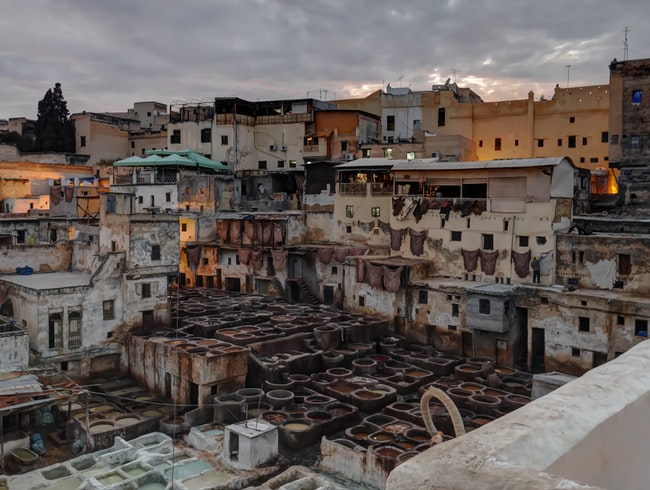 Fez Old Town Tannery