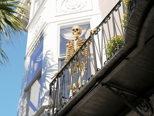 Happy Halloween, Charleston Style