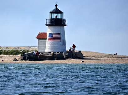 Brant Point Lighthouse Nantucket Massachusetts United States
