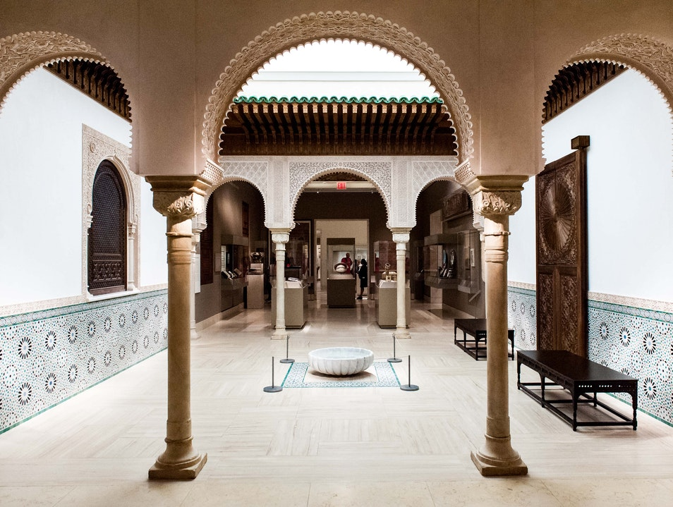 Exotic Art in the Islamic Galleries New York New York United States