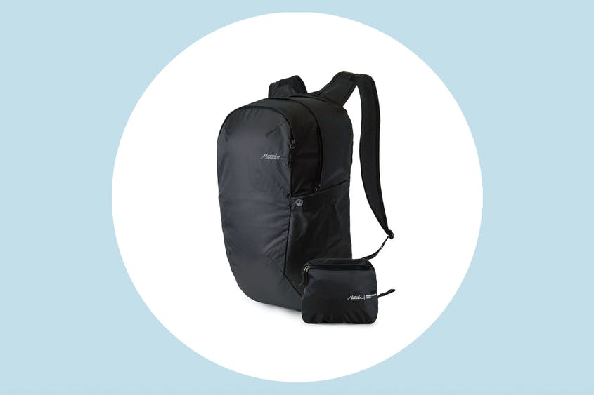 Tuck this packable backpack into the glove compartment when you don't need it.