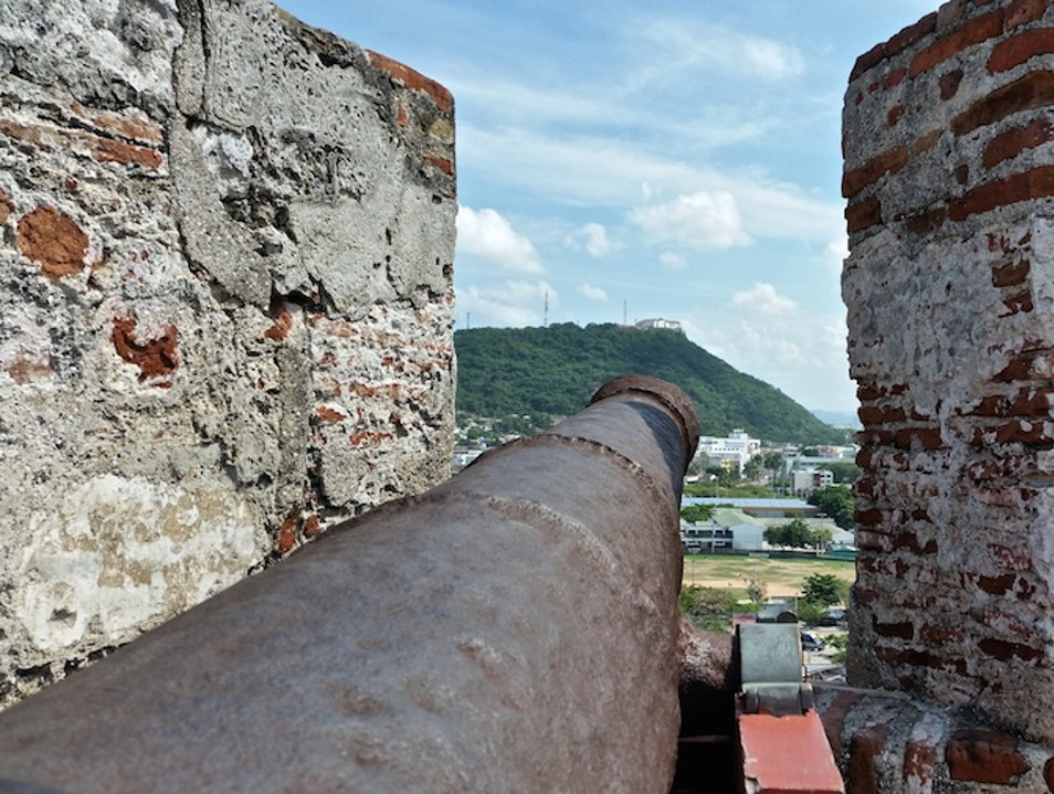 A Castle without Royalty Cartagena  Colombia