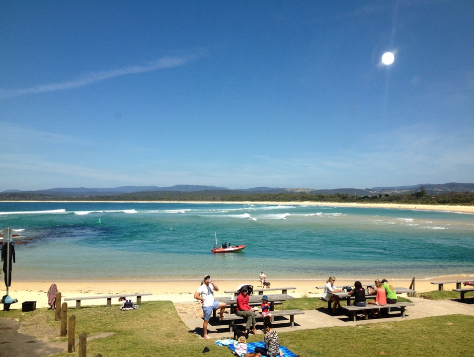 Bar Beach, New South Wales Merimbula  Australia