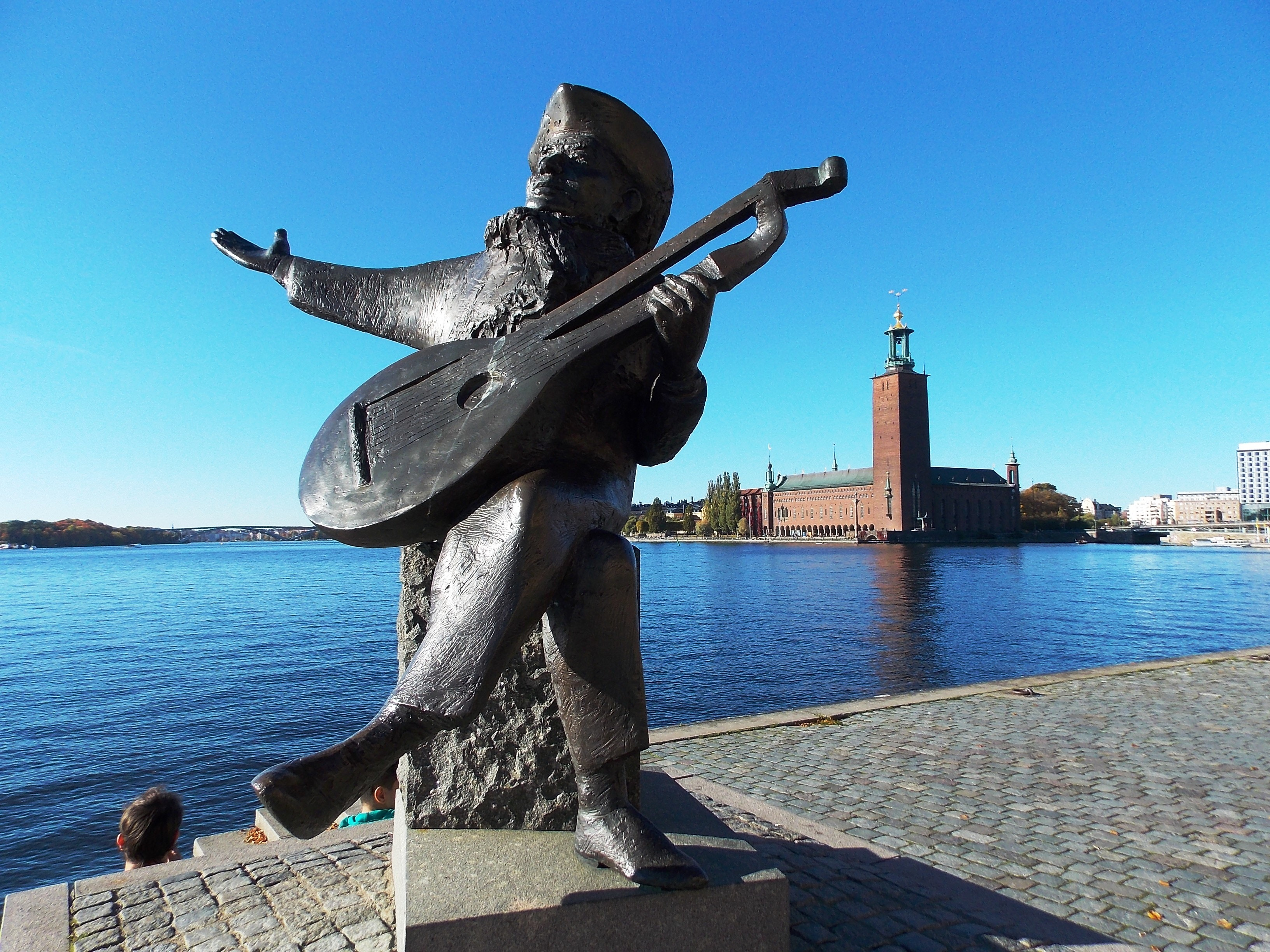 Photo : Gustav III statue, Politic - Old city - Stockholm in ...