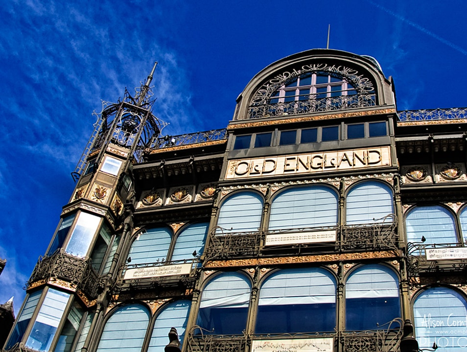 Art Nouveau Architecture and a Stunning View