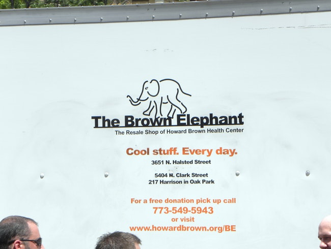 Thrift Shop Charity at Brown Elephant