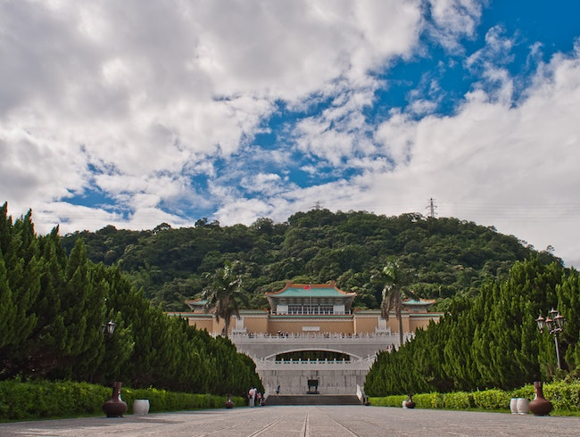 The National Palace Museum, Taipei